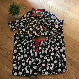 VICTORIAS SECRET large 2 piece pajama set